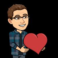 Matt BitEmoji holding a love heart