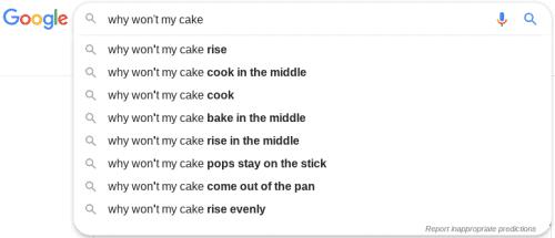 baking trouble, freelance copywriter uk
