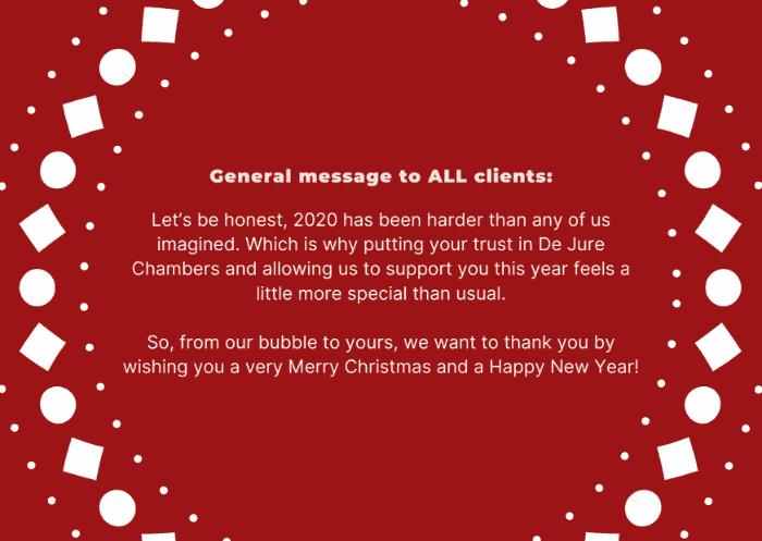 christmas card message copy, copywriting christmas messages